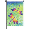 Dancing Dragonflies: Garden Flag