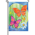 Bright Butterflies: Garden Flag