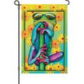 Cool Frog: Garden Flag