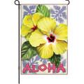 Aloha Hibiscus: Garden Flag