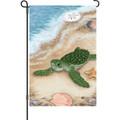 Born Free ( Turtle ) : Garden Flag