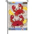 Crab Feast: Garden Flag