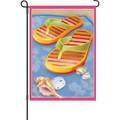 Flip Flops Fandango: Garden Flag