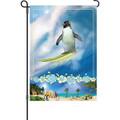 Surfing Safari  (Penguin ): Garden Flag