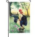 Cock-A-Doodle-Doo (Rooster): Garden Flag