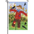 Welcome Scarecrow: Garden Flag