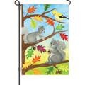 Squirrel Friends : Garden Flag