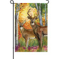 Autumn Deer: Garden Flag