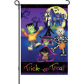 Trick or Treaters: Garden Flag