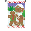 Gingerbread Land: Garden Flag