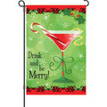 Drink and Be Merry: Garden Flag
