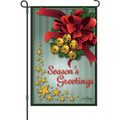 Jingle Bells and Glitter Stars: Garden Flag
