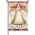 Angelic Grace: Garden Flag