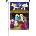 Away in a Manger: Garden Flag