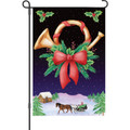 Holiday Horn: Garden Flag