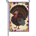 Textured Turkey: Garden Flag