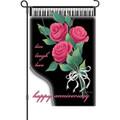 Happy Anniversary: Garden Flag