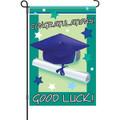 Good Luck Graduate: Garden Flag