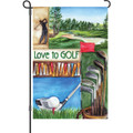 Love Golf: Garden Flag
