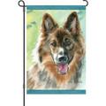 Loyal Shepherd: Garden Flag