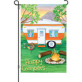 Happy Campers: Garden Flag