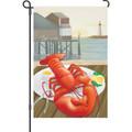 Lobster Catch: Garden Flag