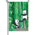 Playful Pandas: Garden Flag