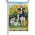 !!!!   Retired  !!!!! Barnyard Buddies (Cows) : Garden Flag (51047)