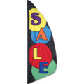Sale Feather Banner (Circle)  3.5ft :  Commercial Displays