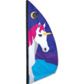 Unicorn   3.5 ft Feather Banner
