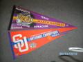 S U National Championship Banners 2003