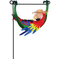 Parrot in Repose : Garden Charms