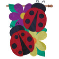 Floral Ladybugs