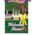 Welcome Home : Illuminated Flags 52913