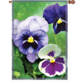 Fancy Pansies : Illuminated Flags