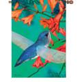 Blue Ballard Hummingbird : Illuminated Flags
