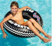 36'' Inflatable Monster Tire Ring #1577