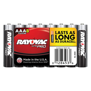 AAA Alkaline Batteries - Case Pack of 96