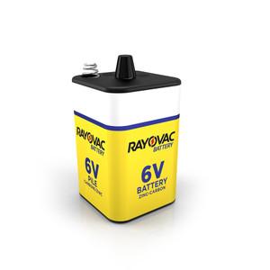 6 Volt Spring Terminal Heavy Duty Rayovac Batteries 944C