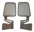 LED Heated Mirror Pair, Black