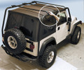 ROOF RACK T-BLK 97-06 TJ 76713