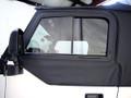 Hard Door Slider Black Denim 12702.15