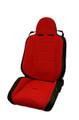 Seat SUSPENSION Black-red