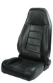 Front Seat w/ Recliner Black