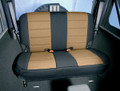 Neoprene Seat Cover Rear Tan