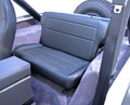 Fold Tumble Rear Seat Black