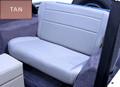 Fold Tumble Rear Seat Tan