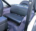 Standard Rear Seat Black Denim