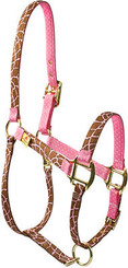High Fashion Giraffe Print Mini Halter