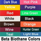 Sample of Colors